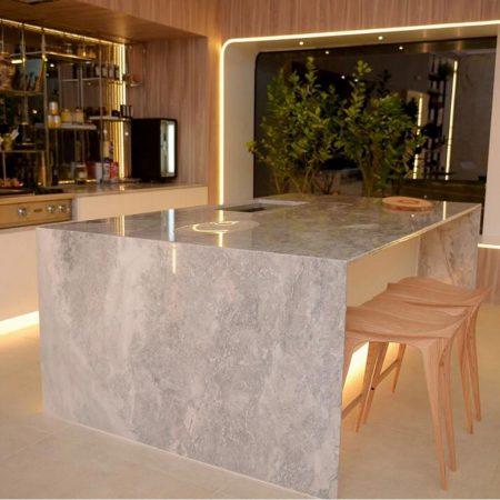שולחן שיש למטבח - שיש גרניט